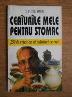 Anticariat: D. E. du Brin - Ceaiurile mele pentru stomac. 250 de retete ca sa mananci ce vrei