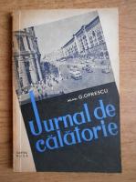 Anticariat: G. Oprescu - Jurnal de calatorie