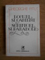 Gheorghe Pitut - Locuri si oameni, scriitori si parabole