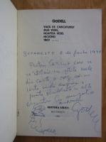 Godell - Viata de caricaturist, ziua vesel, noaptea vesel, nicicand trist (cu autograful autorului)