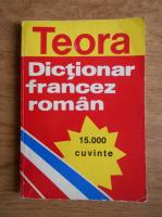 Anticariat: Sanda Mihaescu Cirsteanu - Dictionar francez-roman, 15.000 cuvinte