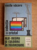 Anticariat: Vasile V. Vacaru - Alb-negru si culoare in televiziune