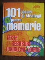 101 jocuri si strategii pentru memorie. Teste, rebusuri, probleme logice (Reader's Digest)
