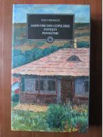 Anticariat: Ion Creanga - Amintiri din copilarie. Povesti. Povestiri