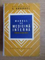Anticariat: Corneliu Borundel - Manual de medicina interna pentru cadre medii