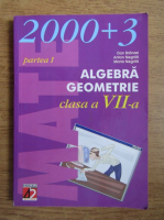 Dan Branzei, Anton Negrila, Maria Negrila - Algebra. Geometrie. Clasa a VII-a