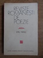 Anticariat: Emil Manu - Reviste romanesti de poezie