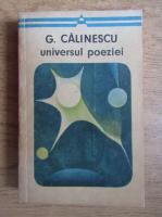 Anticariat: George Calinescu - Universul poeziei