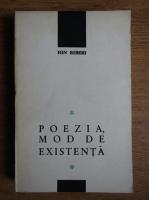 Anticariat: Ion Biberi - Poezia, mod de existenta