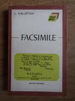 L. Kalustian - Facsimile