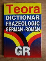 Anticariat: Alexandru Roman - Dictionar frazeologic german-roman