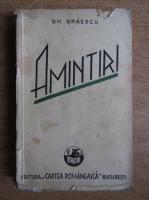Gh. Braescu - Amintiri (1937)