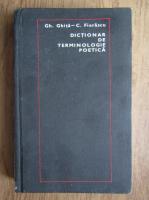 Gh. Ghita - Dictionar de terminologie poetica
