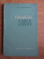 Anticariat: Nicolae Gogoneata - Filozofia lui Vasile Conta
