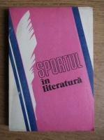 Anticariat: Sebastian Bonifaciu - Sportul in literatura