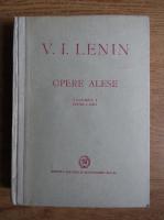 Anticariat: V. I. Lenin - Opere alese (volumul 1, partea a 2-a, 1949)