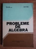 Anticariat: Constantin Nita, Nicolae Radu - Probleme de algebra