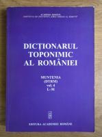 Anticariat: Dictionarul toponimic al Romaniei (volumul 4)