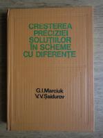 G. I. Marciuk, V. V. Saidurov - Cresterea preciziei solutiilor in scheme cu diferente