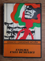 Anticariat: Ignacio Cardenas Acuna - Enigma unei duminici