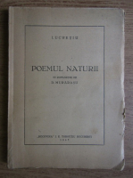 Anticariat: Lucretiu - Poemul naturii (1947)