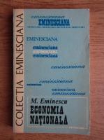 Anticariat: Mihai Eminescu - Economia nationala