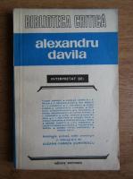 Tudor Arghezi, Nicolae Barbu, Ion Luca Caragiale, George Calinescu - Alexandru Davila