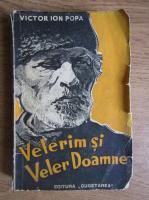Anticariat: Victor Ion Popa - Velerim si Veler Doamne (1942)