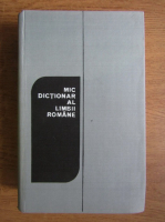 Anticariat: Ana Canarache - Mic dictionar al limbii romane