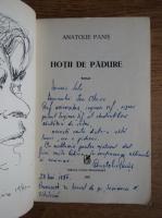 Anticariat: Anatolie Panis - Hotii de padure (cu autograful autorului)