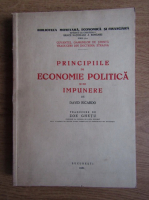 David Ricardo - Principiile de economie politica si de impunere (1939)