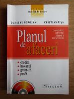 Anticariat: Dumitru Porojan - Planul de afaceri. Concepte, metode, tehnici, proceduri