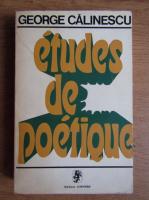 Anticariat: George Calinescu - Etudes de poetique