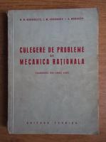 Anticariat: N. N. Buchholtz - Culegere de probleme de mecanica rationala