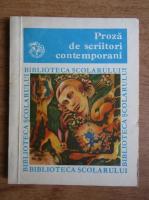 Proza de scriitori contemporani