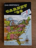 Anticariat: Dan Bratescu - Carnet 1993