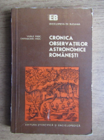 Vasile Mioc, Damaschin Mioc - Cronica observatiilor astronomice romanesti
