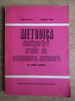 Anticariat: Vasile Molan - Metodica desfasurarii orelor de compunere expunere