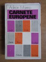 Anticariat: Adrian Marino - Carnete europene