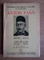 Anton Pann - Opere alese (volumul 2, 1941)