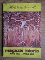 Anticariat: Magazin istoric, anul XXVII, nr. 4 (313), aprilie 1993