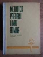 Anticariat: Metodica predarii limbii romane in scoala generala de 8 ani