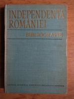 Anticariat: Stefan Pascu, Jean Livescu - Independenta Romaniei, bibliografie