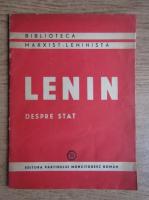 Vladimir Ilici Lenin - Despre stat