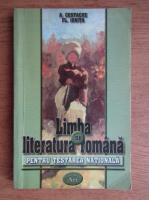 Anticariat: A. Costache, Fl. Ionita - Limba si literatura romana