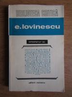 Anticariat: Florin Mihailescu - Eugen Lovinescu