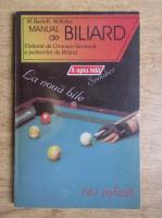 M. Bach - Manual de biliard elaborat de Uniunea Germana a jucatorilor de biliard