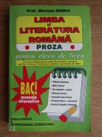 Anticariat: Mariana Badea - Limba si literatura romana. Proza