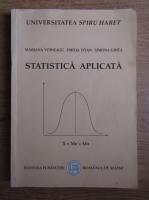 Anticariat: Mariana Voineagu - Statistica aplicata