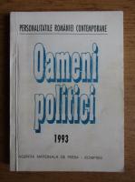 Anticariat: Oameni politici